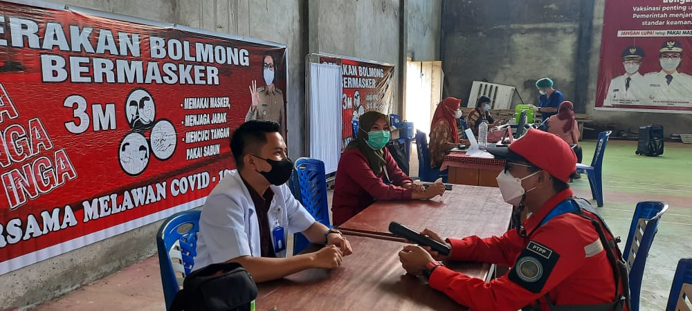 213 Karyawan PT PP (Persero) Tbk Jalani Vaksinasi Tahap Dua