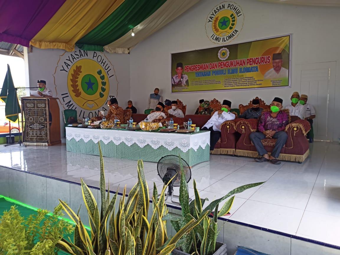 Wagub Gorontalo Kukuhkan Yayasan Pohuli Ilmu Ilomata