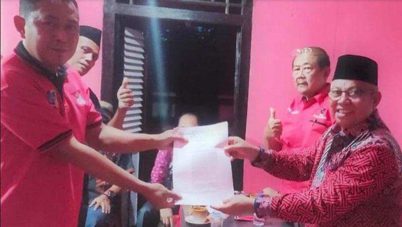 PDIP Bolmut Tunjuk Donny Pangau Jabat Plt Ketua PAC Kaidipang